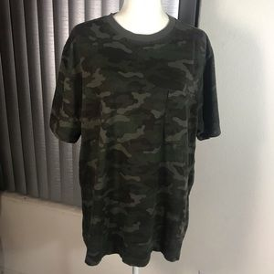 Men's Big and Tall Camo Shirt
